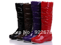Free shipping,Australia down snow boots,high quality waterproof lady snow boots,winter knee-high boots size  us 5-10