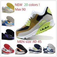 Wholesale New color classical 90 running shoes for MEN .size 40-45 ! famous Brand with the best quality ! free shipping !