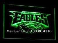 b054-g Philadelphia Eagles Football Neon Light Sign Wholesale Dropshipping