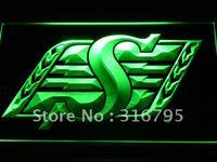 b418-g Saskatchewan Roughriders Sport Neon Light Sign Wholesale Dropshipping