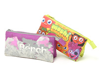 Cartoon animal graphic patterns multifunctional long design cosmetic storage bag pencil case day clutch