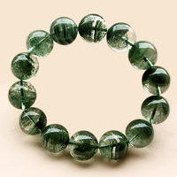 Natural green ghost bracelet male Women lucky tourmaline