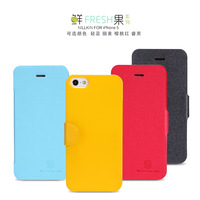 for iphone 5s 5 leather case flip cover with  free shipping