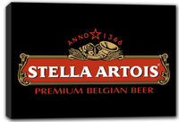 scrb062 Stella Artois ANNO 1366 Bar Beer Stretched Canvas Print Sign Wholesale Dropshipping