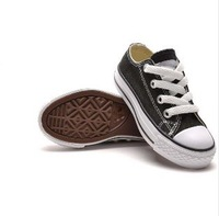 Free Shipping Hot  Selling Fall 2013 All Children Shoes Boys Girls Canvas Shoes Canvas Sneakers High/Low Top Star The Foot Wear
