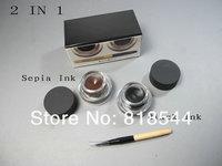 1pcs NEW Long-Wear Gel Eyeliner Set 3g 2 in 1/box !!!