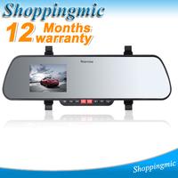 New Arrival ultra-thin Rearview Mirror Full HD1920* 1080P Car DVR Video Recorder Black Box Carcam Gsensor Free shipping