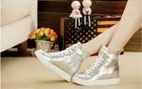 Elevator platform shoes casual shoes women's 2013 free shipping new arrival autumn