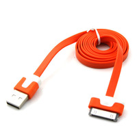 50pcs/lot  Double color fashion data line for iPad for iPhone for iPod data transmission