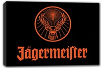 scrb376 Jagermeister Bar Beer Pub Stretched Canvas Print Sign Wholesale Dropshipping