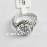 freeshipping the Bride wedding white gold rings Imitation platinum for women ( mix order)