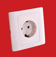 European style wall plug European standard wall socket panel type 86 three grounding standard DIN socket