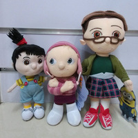 Free Shipping 3 Pcs 2013 Despicable Me Plush Toys the cute girl Margo Edith Agnes toys Retail