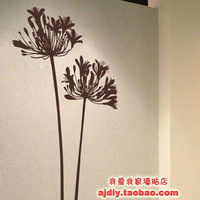 Free Shipping Wholesale and Retail Flowers Wall Stickers Wall Decal Wall Covering Home Decoration F6004