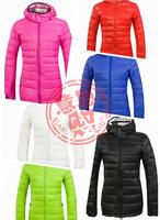 Top Selling Fashion Lady's Winter Coat Goose Down Jacket Parka Women's Down Coat 6 Colors XS-XXL