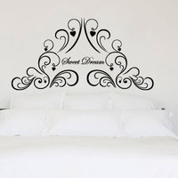 Free Shipping Wholesale and Retail Flowers Wall Stickers Wall Decal Wall Covering Home Decoration F6014