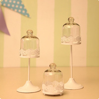 Sets cup cake stands belt glass cover ,wedding,party,Christmas cupcake decoration