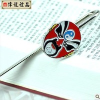 Peking opera facebook bookmarks chinese style gift unique gifts abroad crafts