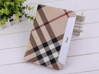 England Style Folio Leather Case For ipad mini Smart Stand Flip Cover Case Free Shipping