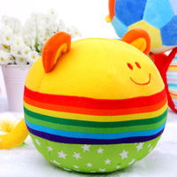 Multifunctional cloth ball 0 - 3 puzzle baby rattles