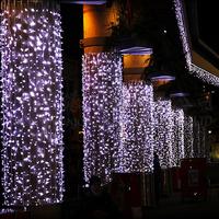 Waterproof string lighting  Led lights flasher lamp set ktv neon light 10M 80 lamps