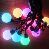 Waterproof spherule Led string light ball lighting string lantern copper wire 5m