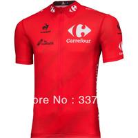 Free Shipping! 2013 Tour de Spain Cycling Jersey Short Sleeve/ bike Short Sleeve/ ropa mountain bike