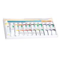 High Quanlity Aluminum Tube Designed Art Water Colour 12 Tubes of 5ml Watercolour Paint F H1E1