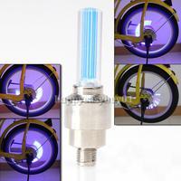 New Alarm Tyre Tire Wheel Car Bike cycling Motorcycle Tire Wheel Blue H1E1