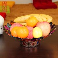 For dec  oration fashion fruit plate fashion home decoration big fruit plate fruit plate