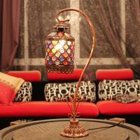 Meike holy lamp decoration table lamp romantic lamp brief bed-lighting rustic lamp