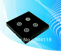 LED Touch Panel Four Key Controller  for led light DC12-24V