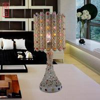 Fashion brief fashion modern energy saving table lamp bedroom bedside lamp bedroom lamp warm lamp