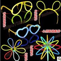 Children's baby kids toys Sticks DIY Light Glasses Hairpin Bracelet Glasses shelves Copious Accessories