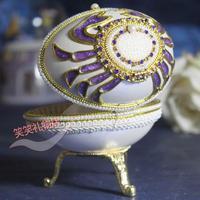 Egg carving girls music box music box birthday gift handmade crafts handmade