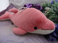 Lovely Pink Lightning Dolphin Plush Toy Stitch Interstellar Stuffed Doll Sucker