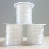 Free shipping!!Flat Elastic Wire DIY Accessories Material For Jewelry Making Wire 30 Meter/Roll Beaded Material