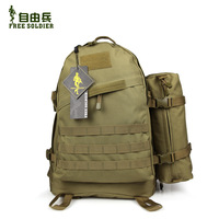 Free Ship Free soldier 3d tactical backpack double-shoulder assault backpack travel bag 30%OFF