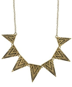 New Fashion Accessories Women Cool Punk Triangle Geometry Necklace Free Shipping