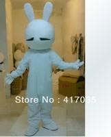 1Pcs Free Shipping to Tuzki cartoon dolls clothing performance clothing bunny rabbit doll doll clothing walking cartoon costume