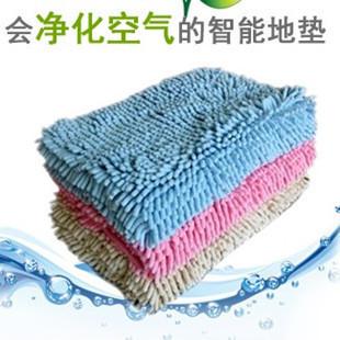 Chenille carpet bed piaochuang carpet