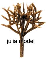 Model tree Scale Train Layout  size 40mm GT08-40 Plastic model tree arm tree trunk
