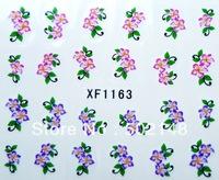 Newest 2D Water Decal Nail Art Flower Nail Sticker