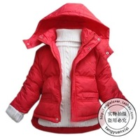 Child down coat male female child autumn and winter outerwear baby trench baby down coat