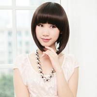 Short hair wig elegant Women wig fluffy bobo short wig