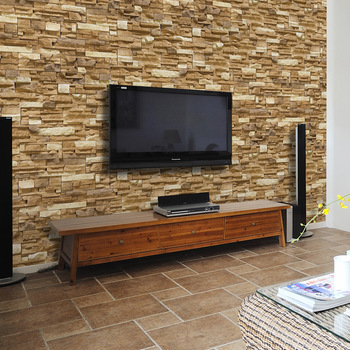 New Arrive! Modern Style Brick Pattern Wallpaper Mural For TV