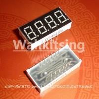 10 PCS LD-3461BG 4 Digit 0.36 inch Green DIP-12 7 SEGMENT LED DISPLAY COMMON ANODE