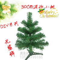 30cm small mini desktop decoration diy christmas tree christmas decoration