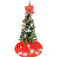 Christmas decoration hangings christmas tree 1.2 meters m bundle christmas decoration