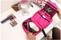 New Hot  Toiletry Travel Wash Storage Bags Cosmetic Makeup Case women bay  Hook Waterproof